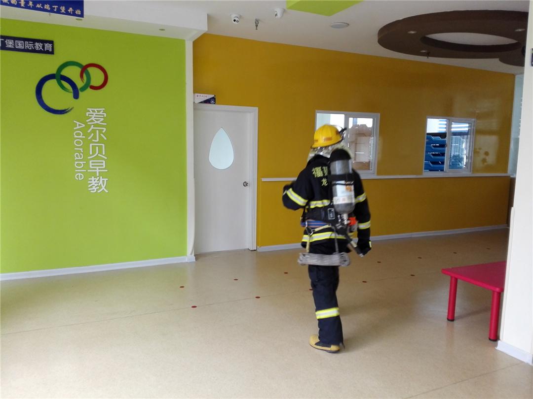 【瑞丁堡幼儿园&红黄蓝亲子园】消防应急演习顺利